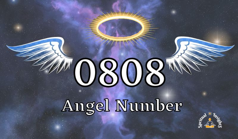 Angel Number 0808 – Meaning & Spiritual Message
